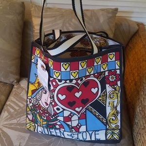 Brighton Queen of Love Tote Bag Tom Clancy New